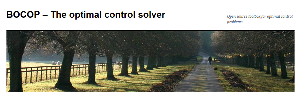Bocop - The optimal control solver