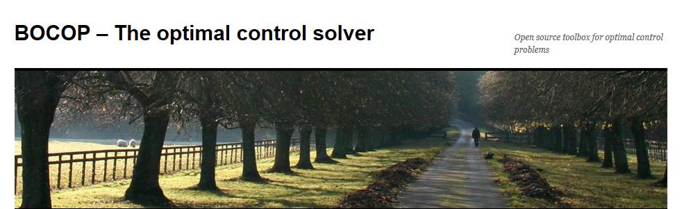 Bocop - The optimal control solver