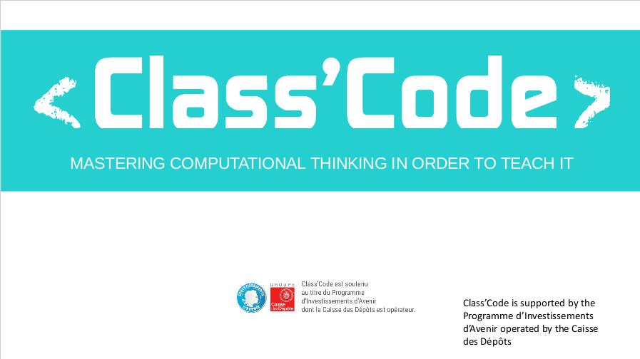 class-code-in-English