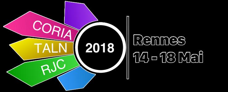 CORIA-TALN-RJC 2018 (14 au 18 Mai 2018)